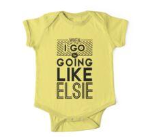 Going Like Elsie One Piece - Short Sleeve