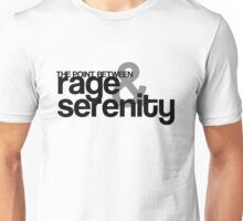 Rage and Serenity Unisex T-Shirt