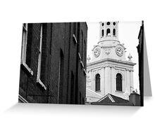 'Greenwich 6' Greeting Card