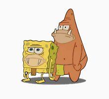 Prehistoric Spongebob and Patrick Unisex T-Shirt