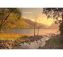 Buttermere Lake, Cumbria, UK, Photographic Print