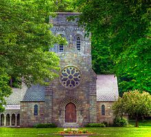 All Saints Church by Monica M. Scanlan