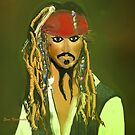 Johnny  Depp by evska