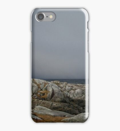 Peggy's Cove Lighthouse Nova Scotia Canada iPhone Case/Skin