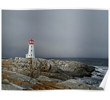 Peggy's Cove Lighthouse Nova Scotia Canada Poster
