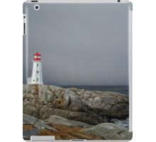 Peggy's Cove Lighthouse Nova Scotia Canada iPad Case/Skin