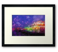 A Grand day at the Pier Framed Print