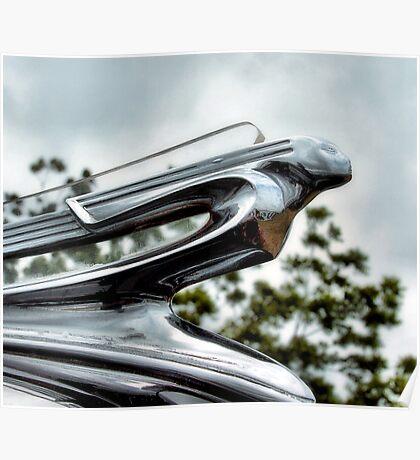 1950 Cadillac Mascot Poster
