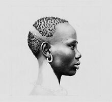 WIP - African Girl II by Jan Szymczuk