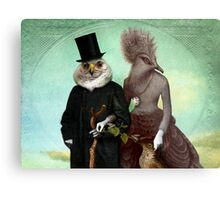 Mr. and Mrs. Schnabel Metal Print