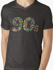 90s Kid Mens V-Neck T-Shirt