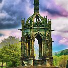 Folly at Bolton Abby by Glen Allen