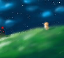 The Little Lonely Bear by jumphong