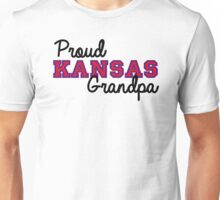 Proud Kansas Grandpa Unisex T-Shirt