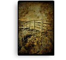 Bridges Past Canvas Print
