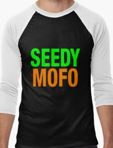Seedy Mofo Men's Baseball ¾ T-Shirt