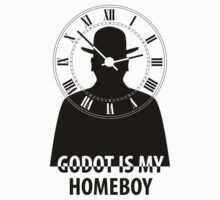 Godot is My Homeboy Black by SymbolGrafix