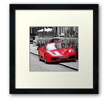 Study of a prancing horse  Framed Print