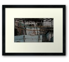 dawn under clouds at Varanasi Framed Print