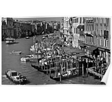 Morning on the Grand Canal Poster
