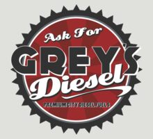 'Grey's Diesel' T-shirt Logo by Autographics