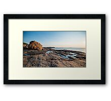 Reflection Pools – Acadia National Park, Maine Framed Print