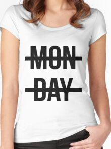 harry styles loves mondays Women's Fitted Scoop T-Shirt