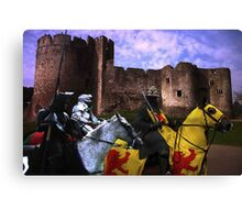 A Knight's Quest Canvas Print