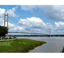 humber bridge yorkshire Photographic Print