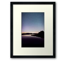 Starry Waters – Acadia National Park, Maine Framed Print