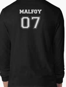 Malfoy Quidditch Jersey Number Long Sleeve T-Shirt