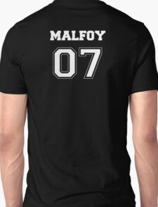 Malfoy Quidditch Jersey Number T-Shirt