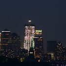 lower manhattan at dusk by Kevin Koepke