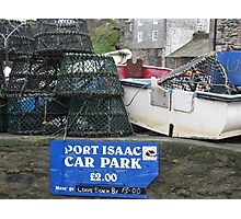 PORT ISAAC - DOC MARTIN'S TOWN OF PORT WEN IN CORNWALL Photographic Print