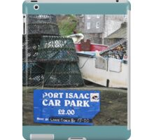 PORT ISAAC - DOC MARTIN'S TOWN OF PORT WEN IN CORNWALL iPad Case/Skin