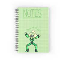 Peridot and clods Spiral Notebook