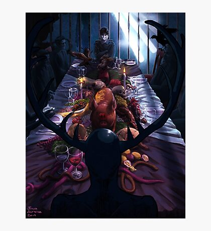 The Dark Banquet Photographic Print