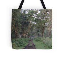 Kenya Trees Tote Bag