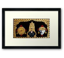 Lord Balaji  Framed Print