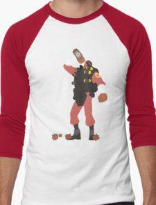 TF2 - Demo / RED Team Men's Baseball ¾ T-Shirt