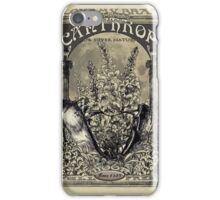Essence of Lycanthropus iPhone Case/Skin