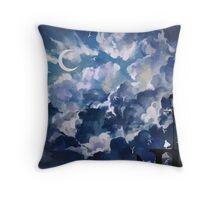 the sky-wanderer. Throw Pillow