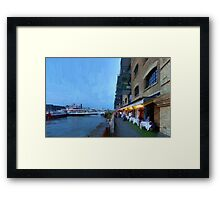 LONDON_View 027 Framed Print
