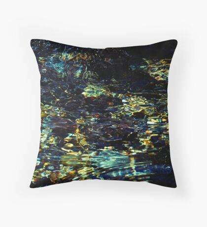 Rockpool Dreaming Throw Pillow