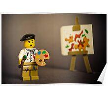 Painter Man Poster