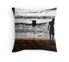 Last of The Warm Tides Throw Pillow