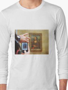 iconic/ironic close-up Long Sleeve T-Shirt