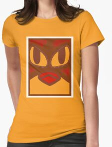 """""""FIERY CHICKEN FRIES"""" APPAREL Womens Fitted T-Shirt"""