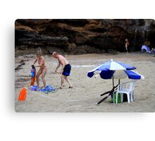 Beach Rescue.. And Relief! Canvas Print