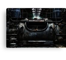 Abandoned Time-Machine Canvas Print